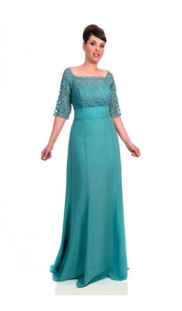 Vestido largo Waleska moda 563