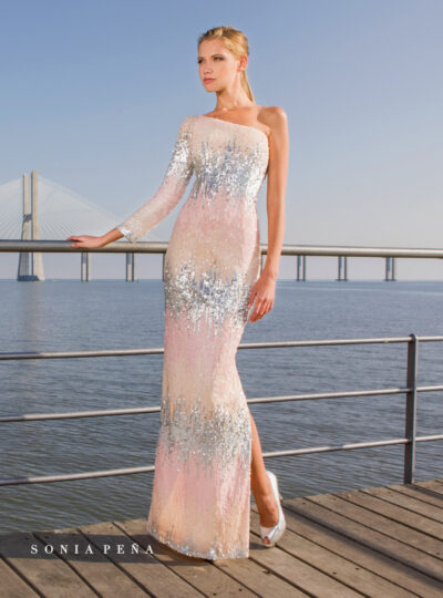 vestido largo Sonia Peña 245