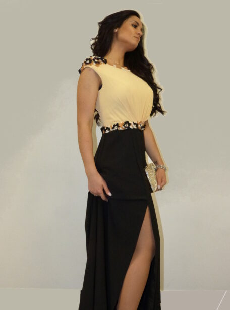 vestido fiesta largo Zaragoza 370-11