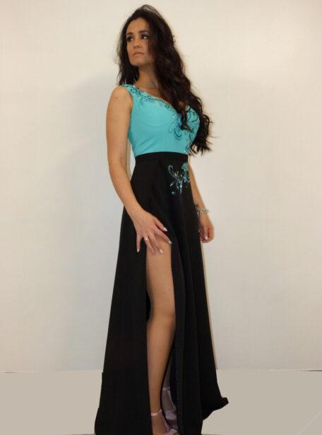 vestido fiesta largo Zaragoza 371-1