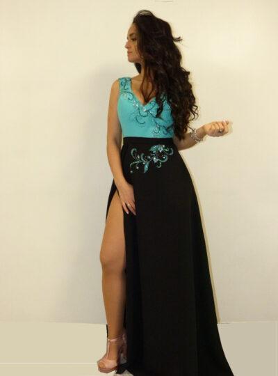 vestido fiesta largo Zaragoza 371