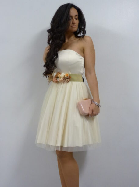 vestido novia corto Pamplona 361