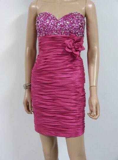vestido corto entallado Zaragoza 404