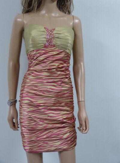 vestido corto entallado Zaragoza 405