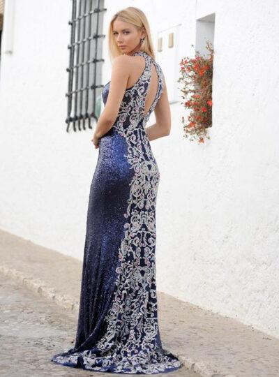vestido fiesta largo xm Teruel 409