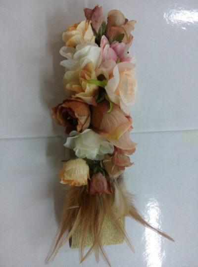cinturon flores rosa 1