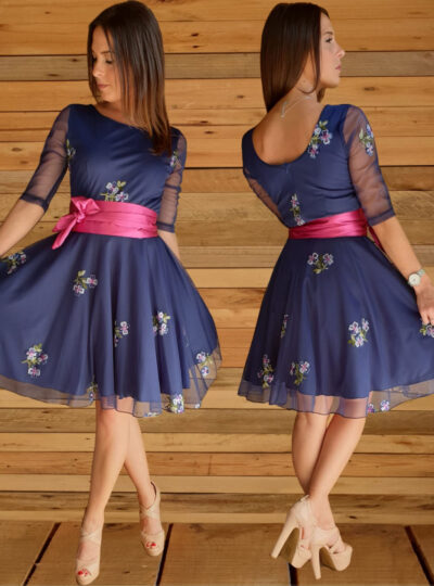 vestido corto Madrid 507