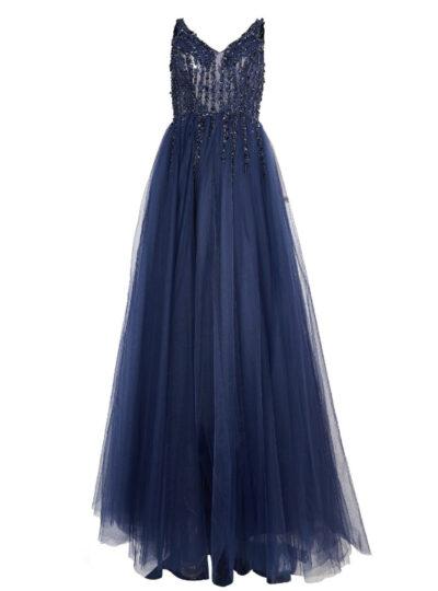 vestido largo Madrid 515-2
