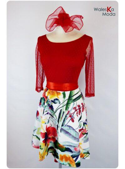 vestido combinado Zaragoza 590