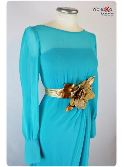 vestido largo mangas Zaragoza 593