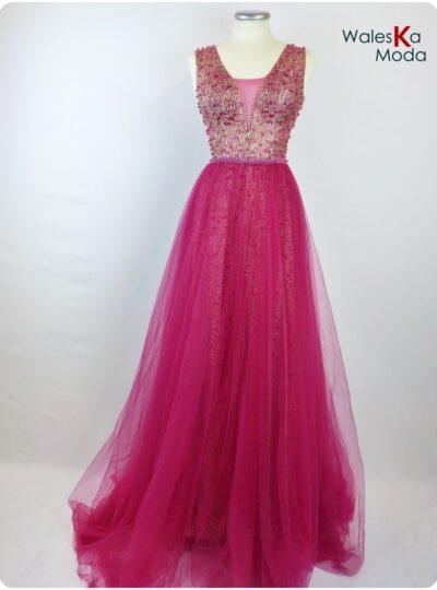 vestido largo cancan Zaragoza 618