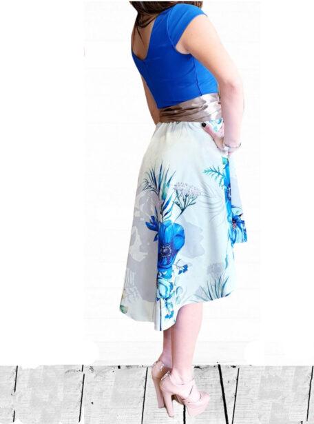 vestido combinado Zaragoza 589-12