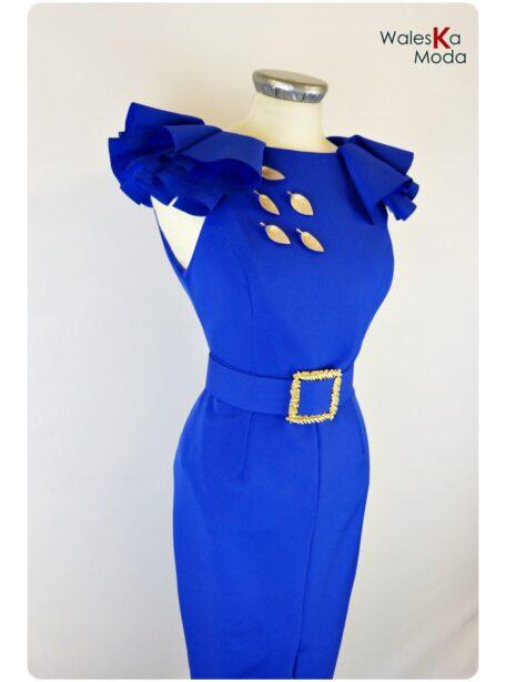 Vestido azulón Tudela 672-1