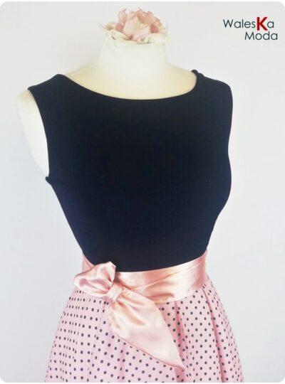 vestido corto estampado