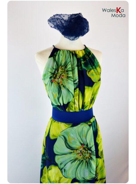 Vestido estampado Logroño 659-1