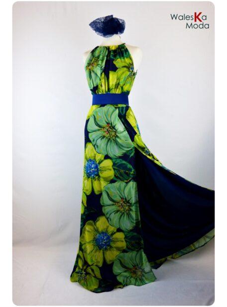 Vestido estampado Logroño 659-11