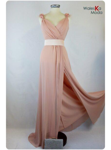 Vestido rosa Teruel 626-1