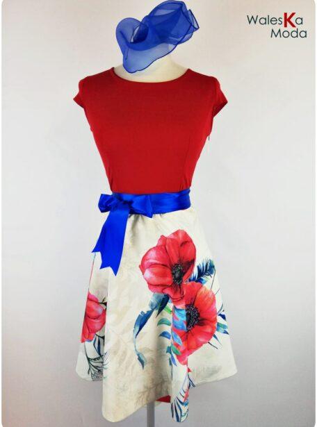 vestido combinado Zaragoza 589