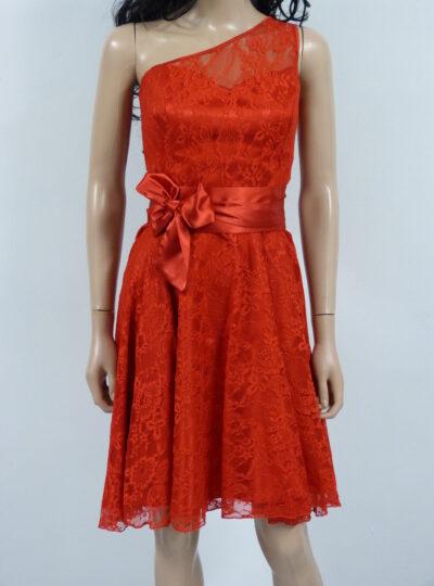 vestido corto rojo Huesca 620