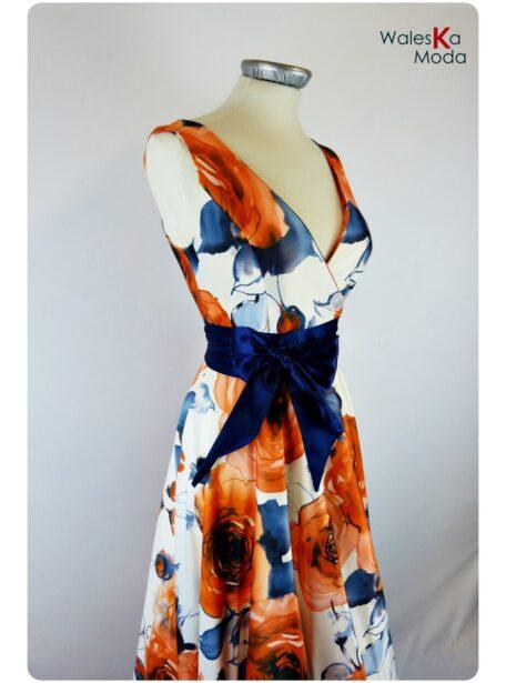 vestido estampado Teruel 536-2