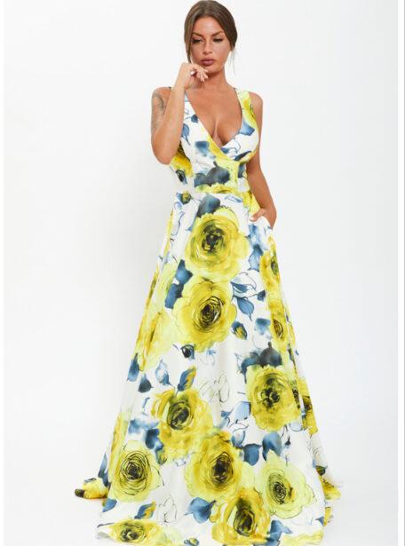 vestido estampado teruel 536-1