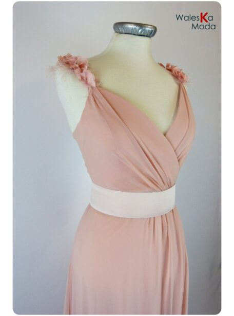 vestido rosa Teruel 626-11