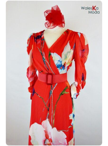 Vestido estampado Burgos 656