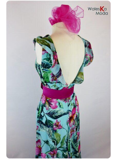 Vestido estampado Logroño 665-1