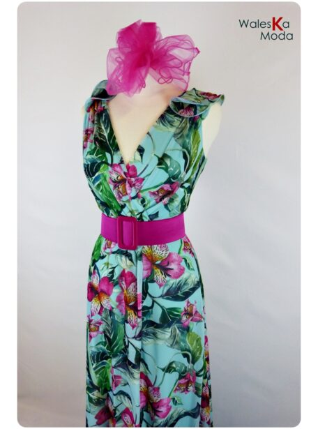 Vestido estampado Logroño 665-11