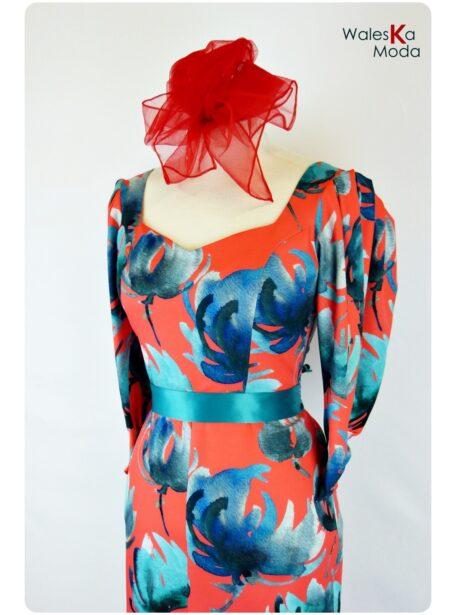 Vestido estampado Tudela 676-1