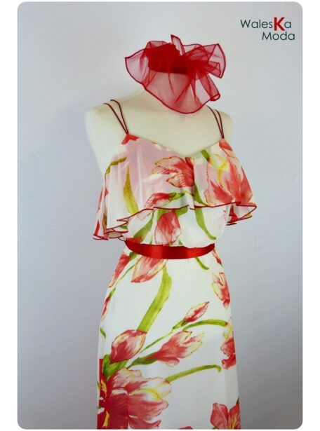 Vestido estampado Zaragoza 376-1