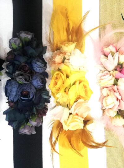 Cinturones flores 695