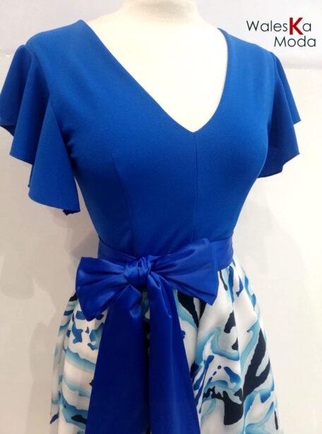 vestido corto estampado 815-1